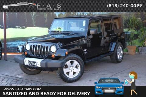 2010 Jeep Wrangler Unlimited for sale at Best Car Buy in Glendale CA