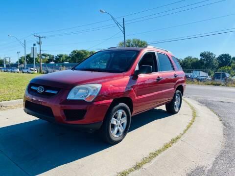 2010 Kia Sportage for sale at Xtreme Auto Mart LLC in Kansas City MO