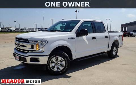 2020 Ford F-150 for sale at Meador Dodge Chrysler Jeep RAM in Fort Worth TX
