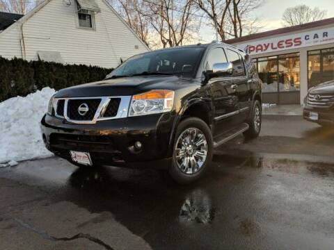 2015 Nissan Armada for sale at PAYLESS CAR SALES of South Amboy in South Amboy NJ