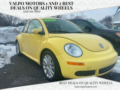 2008 Volkswagen New Beetle for sale at Valpo Motors 1 and 2  Best Deals On Quality Wheels in Valparaiso IN