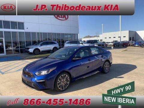 2021 Kia Forte for sale at J P Thibodeaux Used Cars in New Iberia LA