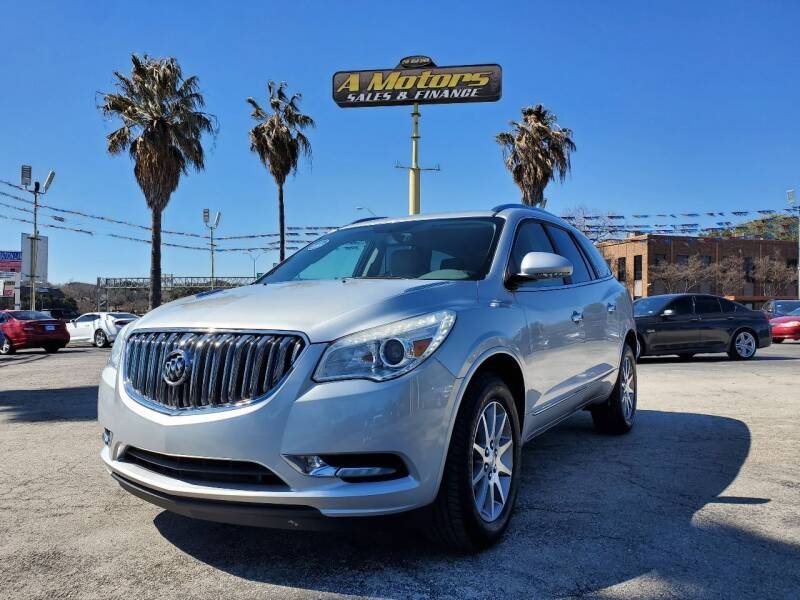 2016 Buick Enclave for sale at A MOTORS SALES AND FINANCE in San Antonio TX