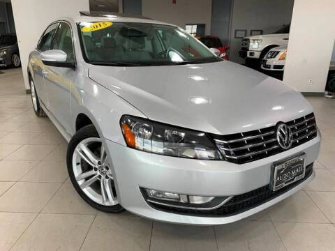 2015 Volkswagen Passat for sale at Cj king of car loans/JJ's Best Auto Sales in Troy MI