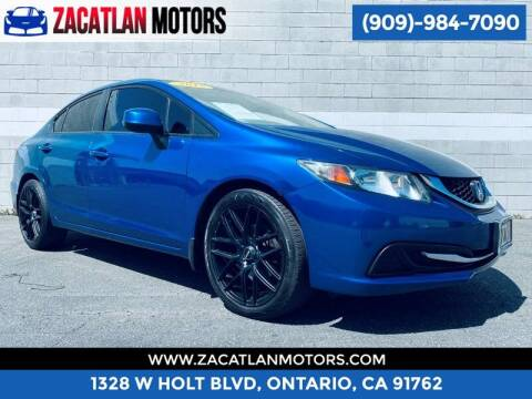 2013 Honda Civic for sale at Ontario Auto Square in Ontario CA