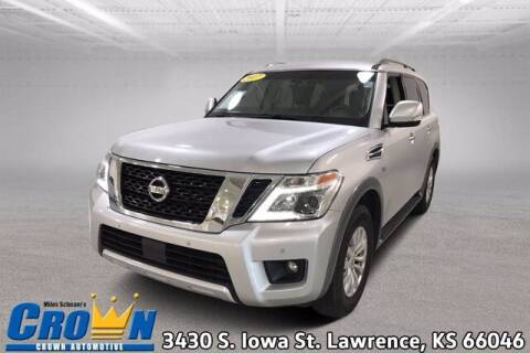 2017 Nissan Armada for sale at Crown Automotive of Lawrence Kansas in Lawrence KS