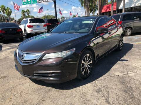 2016 Acura TLX for sale at Gtr Motors in Fort Lauderdale FL