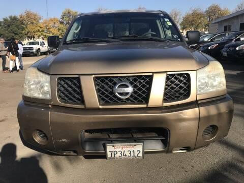 2004 Nissan Titan for sale at EXPRESS CREDIT MOTORS in San Jose CA
