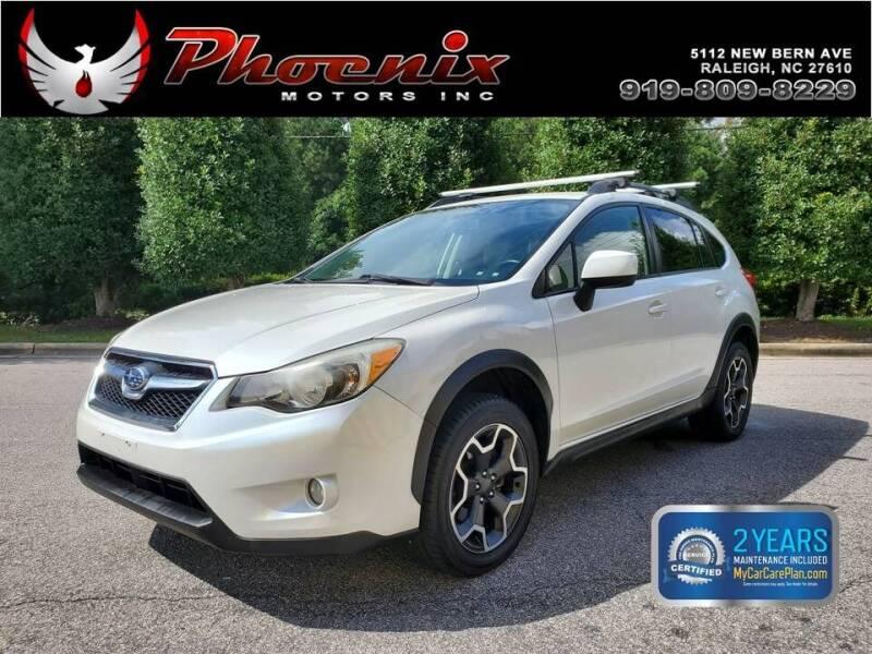 2014 Subaru XV Crosstrek for sale at Phoenix Motors Inc in Raleigh NC