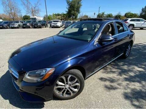2015 Mercedes-Benz C-Class for sale at SOLID MOTORS LLC in Garland TX