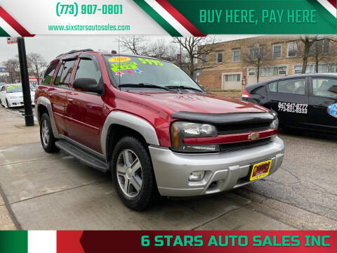 2005 Chevrolet TrailBlazer for sale at 6 STARS AUTO SALES INC in Chicago IL