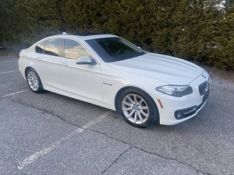 2015 BMW 5 Series for sale at Limitless Garage Inc. in Rockville MD