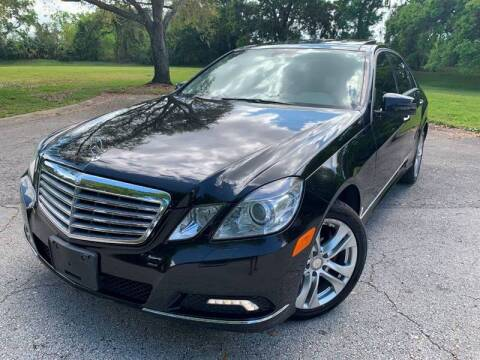 2010 Mercedes-Benz E-Class for sale at FLORIDA MIDO MOTORS INC in Tampa FL