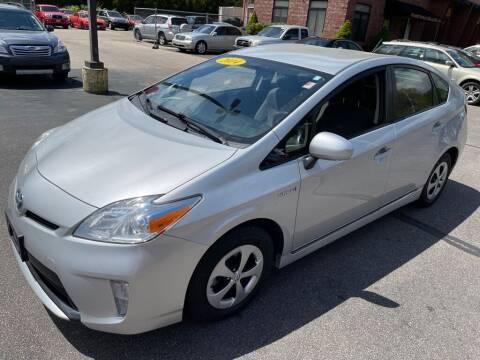 2014 Toyota Prius for sale at KINGSTON AUTO SALES in Wakefield RI