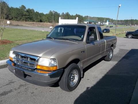 1999 Ford Ranger for sale at Anderson Wholesale Auto in Warrenville SC