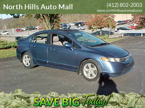 2007 Honda Civic for sale at North Hills Auto Mall in Pittsburgh PA