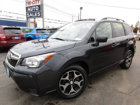 2016 Subaru Forester for sale at TRI CITY AUTO SALES LLC in Menasha WI