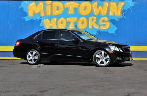2010 Mercedes-Benz E-Class for sale at Midtown Motors in San Jose CA