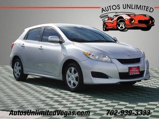 2009 Toyota Matrix for sale at Autos Unlimited in Las Vegas NV