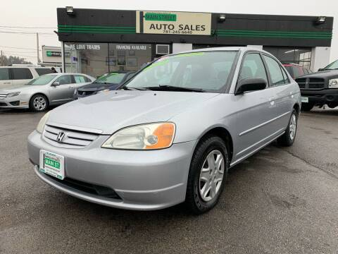 2003 Honda Civic for sale at Wakefield Auto Sales of Main Street Inc. in Wakefield MA