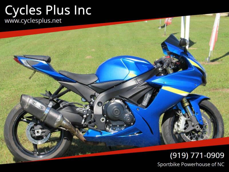 2013 Suzuki GSXR 750 for sale at Cycles Plus Inc in Garner NC