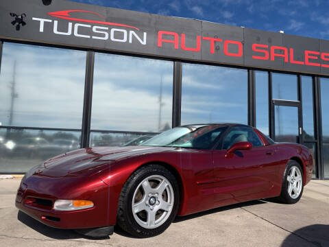2004 Chevrolet Corvette for sale at Tucson Auto Sales in Tucson AZ