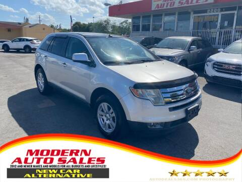 2010 Ford Edge for sale at Modern Auto Sales in Hollywood FL