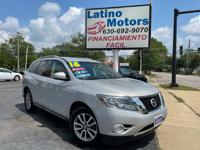 2016 Nissan Pathfinder for sale at Latino Motors in Aurora IL