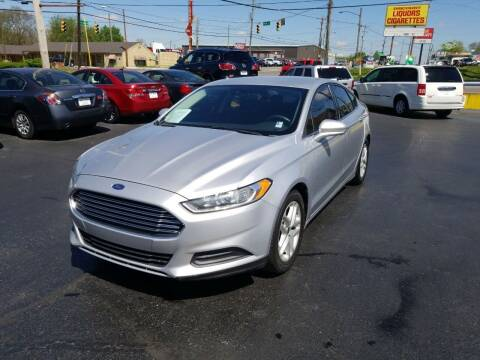 2014 Ford Fusion for sale at Rucker's Auto Sales Inc. in Nashville TN