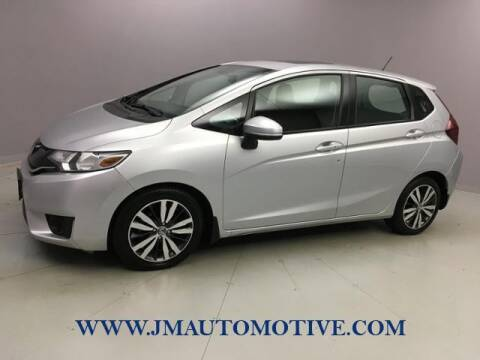 2015 Honda Fit for sale at J & M Automotive in Naugatuck CT