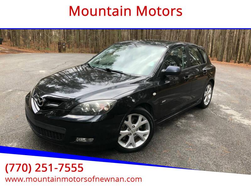 2008 Mazda MAZDA3 for sale at Mountain Motors in Newnan GA
