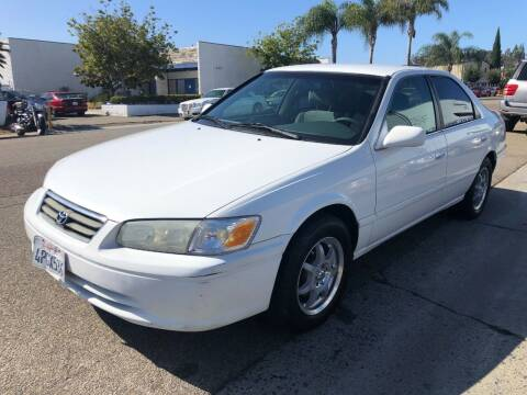 2001 Toyota Camry for sale at Ricos Auto Sales in Escondido CA