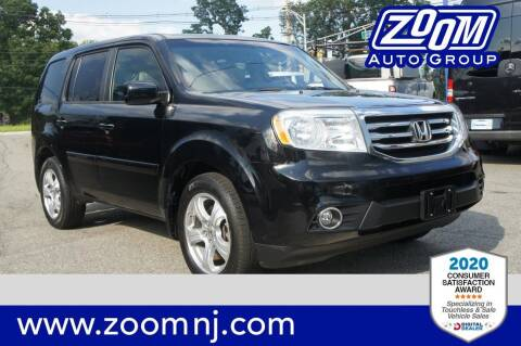 2015 Honda Pilot for sale at Zoom Auto Group in Parsippany NJ