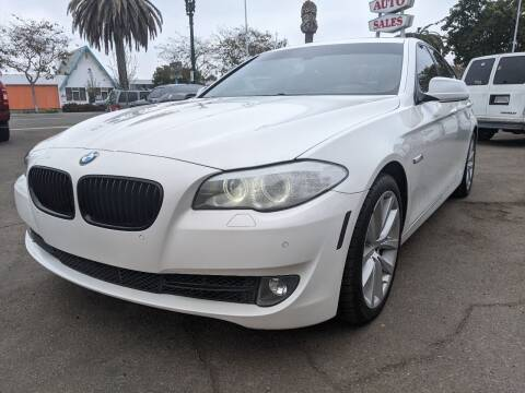 2012 BMW 5 Series for sale at Convoy Motors LLC in National City CA