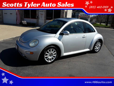 2005 Volkswagen New Beetle for sale at Scotts Tyler Auto Sales in Wilmington IL