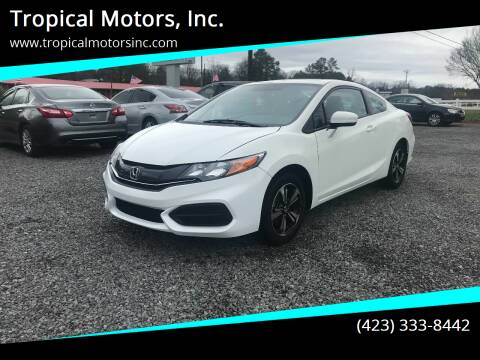 2015 Honda Civic for sale at Tropical Motors, Inc. in Riceville TN