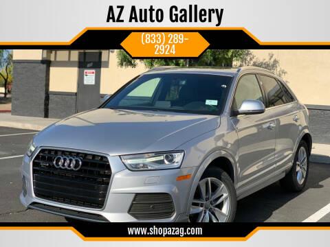2016 Audi Q3 for sale at AZ Auto Gallery in Mesa AZ