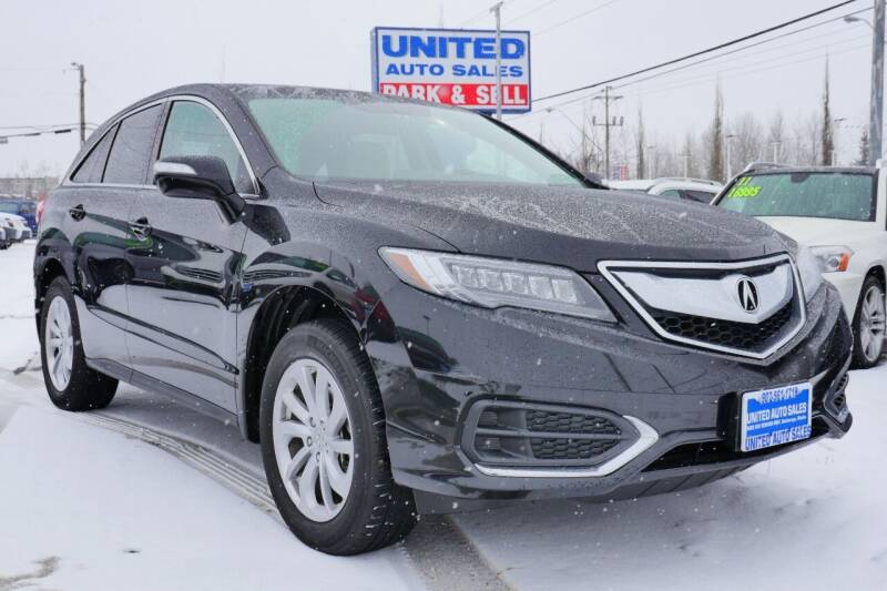 2017 Acura RDX for sale at United Auto Sales in Anchorage AK