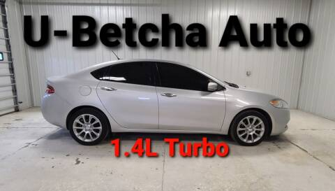 2013 Dodge Dart for sale at Ubetcha Auto in St. Paul NE