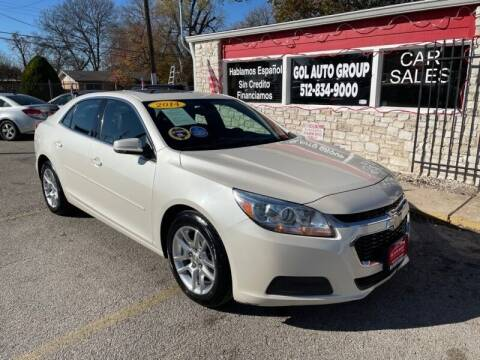 2014 Chevrolet Malibu for sale at GOL Auto Group in Austin TX