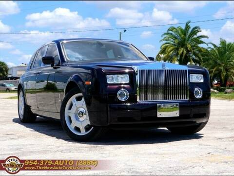 2005 Rolls-Royce Phantom for sale at The New Auto Toy Store in Fort Lauderdale FL