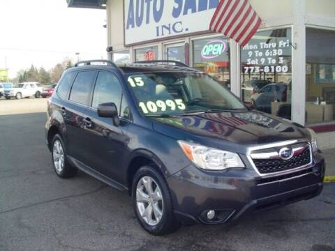 2015 Subaru Forester for sale at G & L Auto Sales Inc in Roseville MI