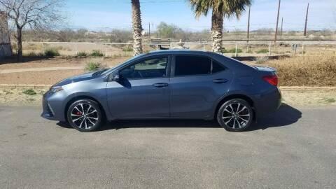 2017 Toyota Corolla for sale at Ryan Richardson Motor Company in Alamogordo NM