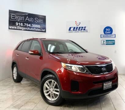 2014 Kia Sorento for sale at Elegant Auto Sales in Rancho Cordova CA