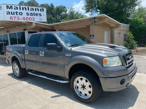 2006 Ford F-150 for sale at Mainland Auto Sales Inc in Daytona Beach FL