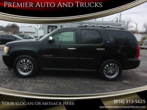 2007 Chevrolet Tahoe for sale at Premier Auto And Trucks in Independence MO