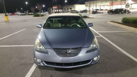 2006 Toyota Camry Solara for sale at Wheels To Go Auto Sales in Greenville SC