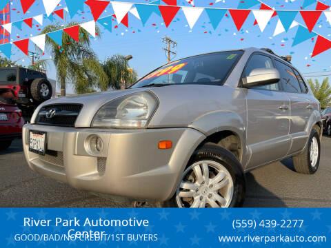 2006 Hyundai Tucson for sale at River Park Automotive Center in Fresno CA