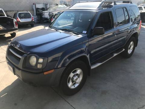 2003 Nissan Xterra for sale at OCEAN IMPORTS in Midway City CA