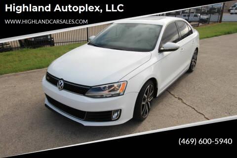 2013 Volkswagen Jetta for sale at Highland Autoplex, LLC in Dallas TX